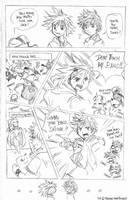 Comic Meme: Kingdom Hearts by laurbits