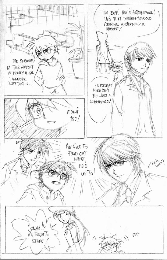 Comic Meme: Detective Conan by laurbits