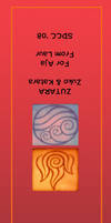 Zutara Bookmark by laurbits