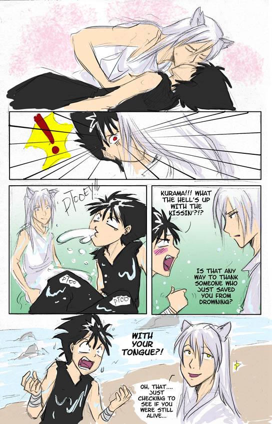 Hiei and kurama gay