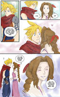 Kiss Meme: Cloud x Aerith by laurbits