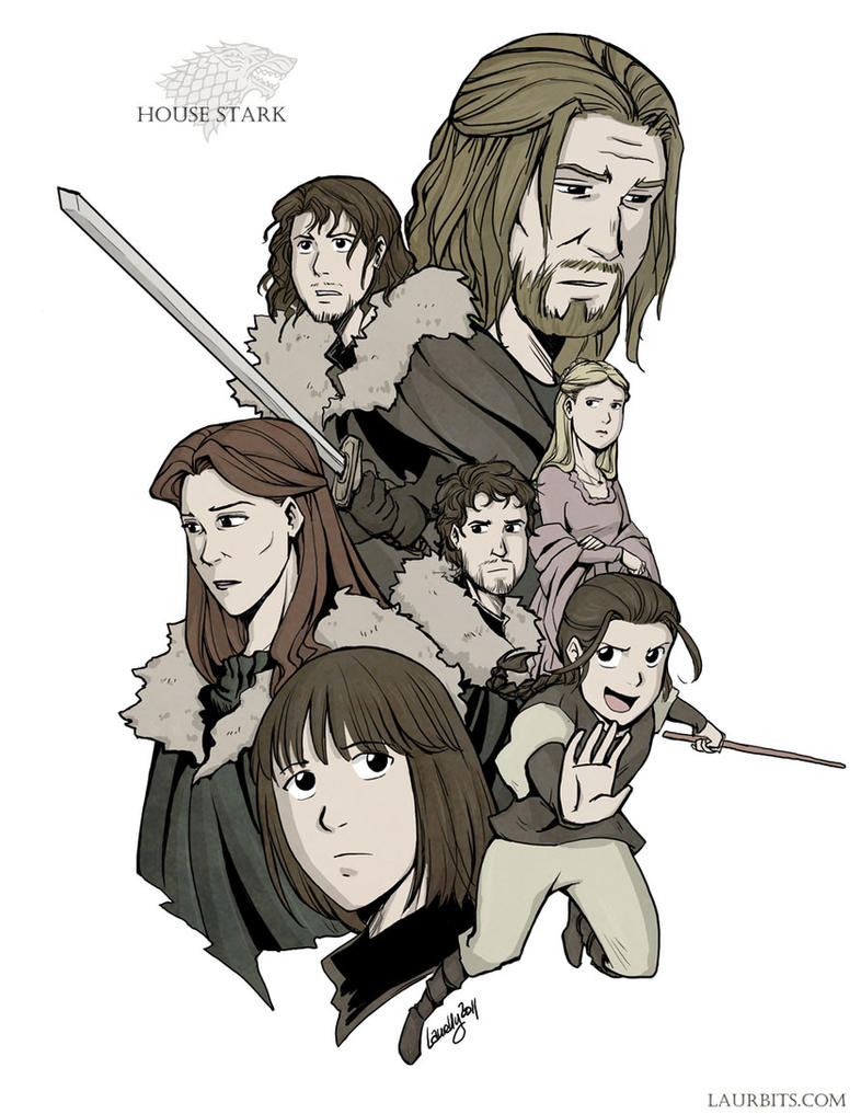 House Stark by laurbits