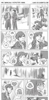 BBC Sherlock X Detective Conan
