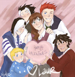 Happy Vday 2012 by laurbits