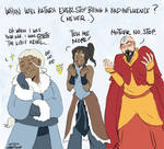 Katara is always a Bad Influence