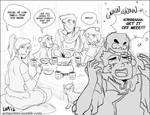 Team Korra babysits Tenzin's Kids