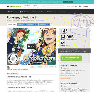 Polterguys Vol. 1 Kickstarter Campaign by laurbits