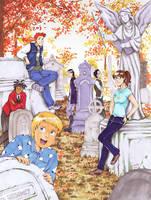 Polterguys: Graveyard by laurbits