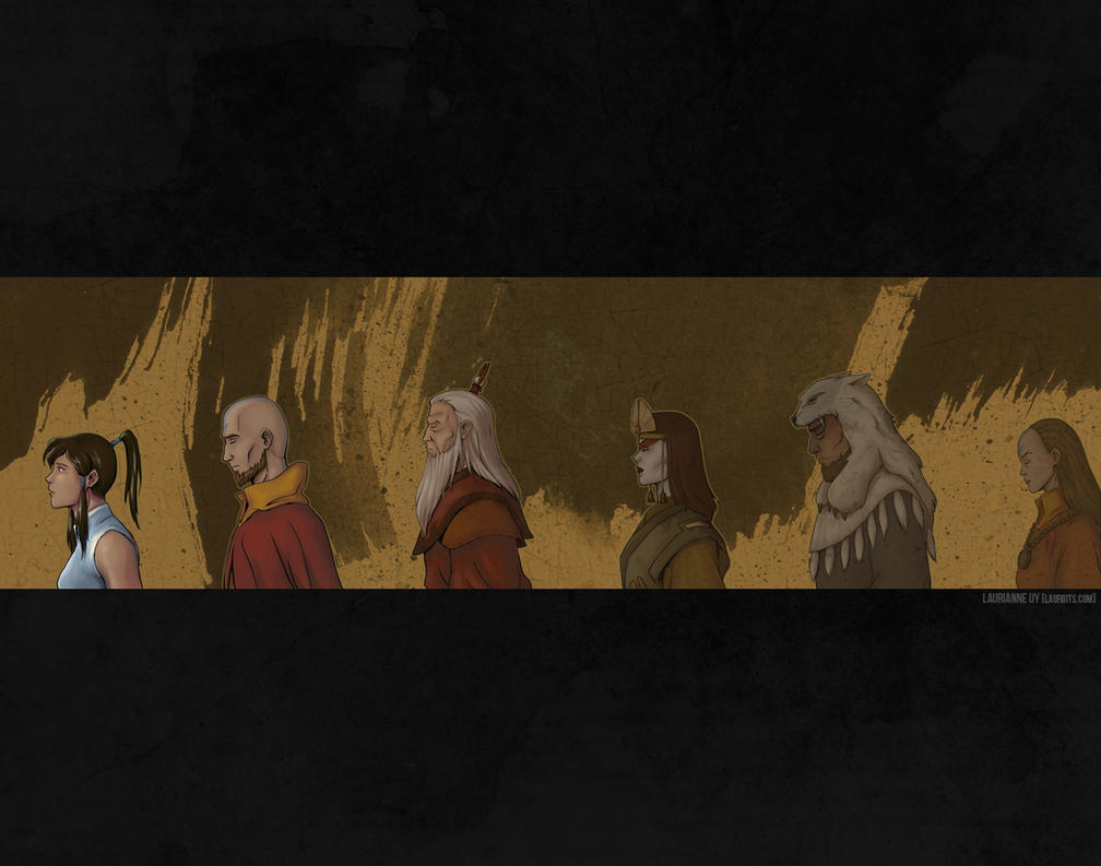 LoK: Echoes of Past Lives by laurbits