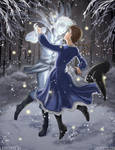 Dancing with the Wintersmith by laurbits