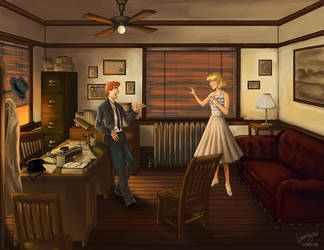 Noir Archie and Betty by laurbits