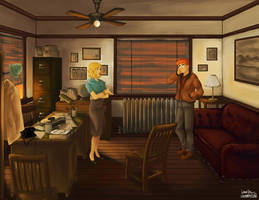 Noir Betty and Archie by laurbits