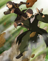 Beifong Sisters by laurbits