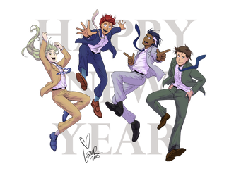 Happy 2016! by laurbits