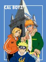 CAL boyz by laurbits