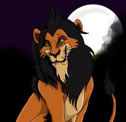 Lion King Scar by Shinigamylle