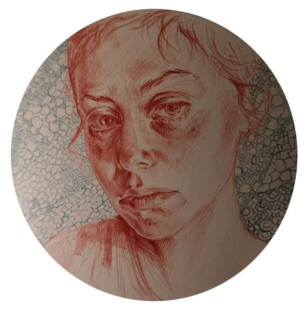 Portrait In Circle by masktoblack