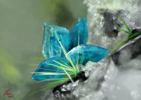 Crystal Flower by masktoblack