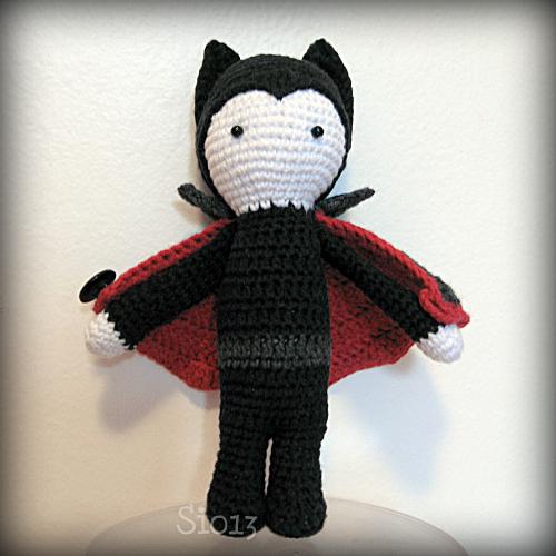 вампир handmade crochet vampire