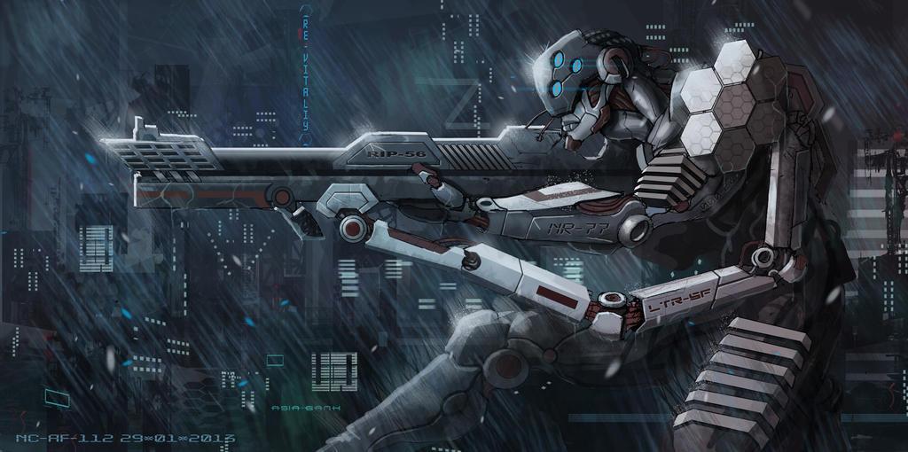 Sniper by AspectusFuturus
