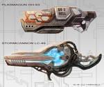 Heavy guns concept