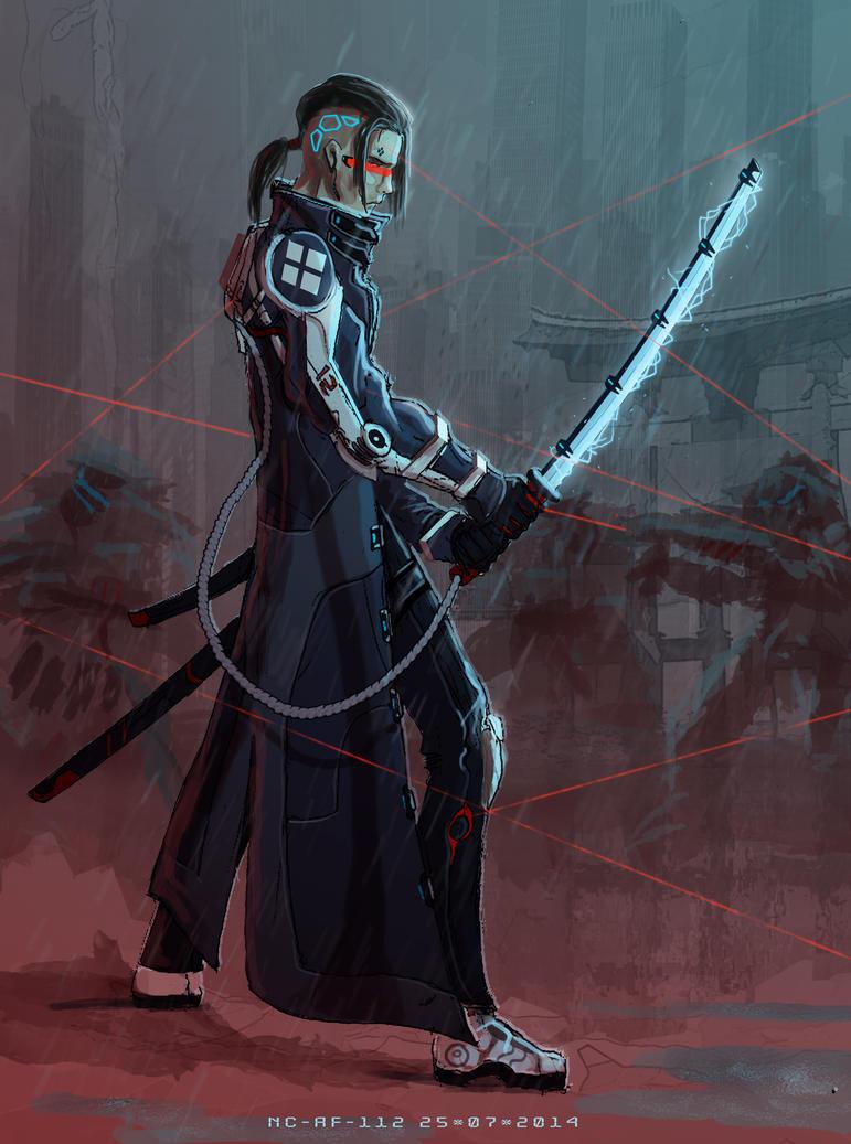 Cyberpunk Jin by AspectusFuturus