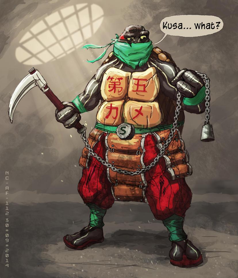 TMNT: Sandro - the 5th turtle by AspectusFuturus