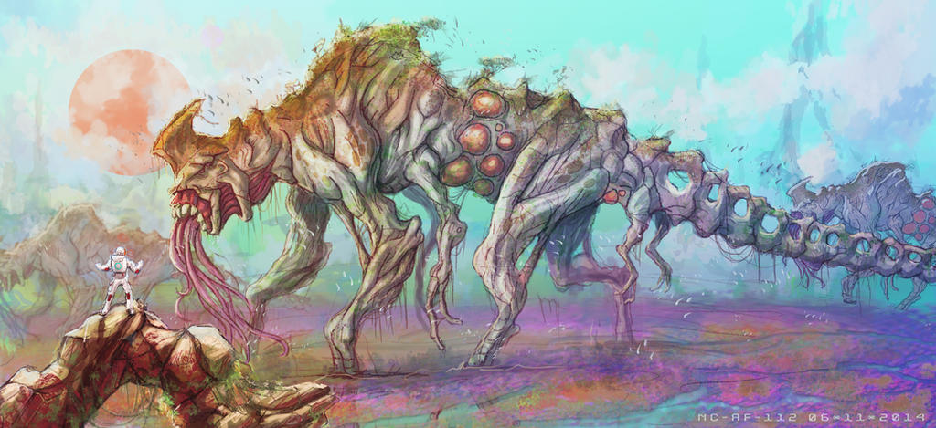 Land of the titans by AspectusFuturus