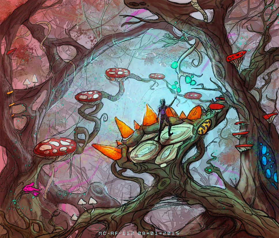 Strange forest by AspectusFuturus