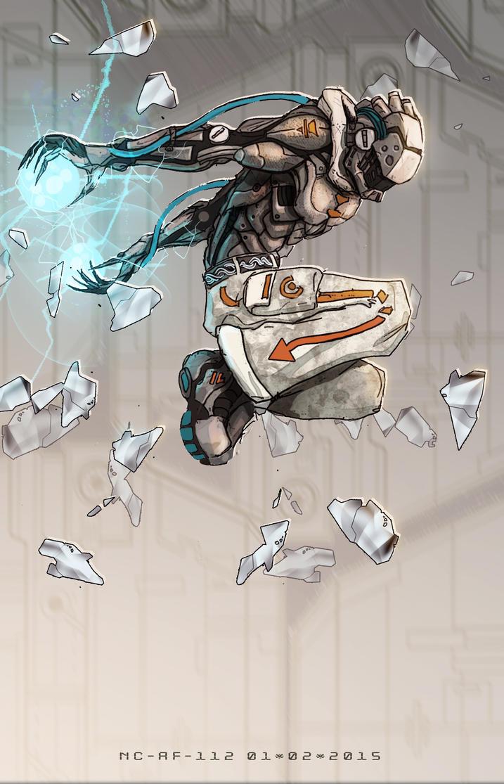 Electric jump by AspectusFuturus