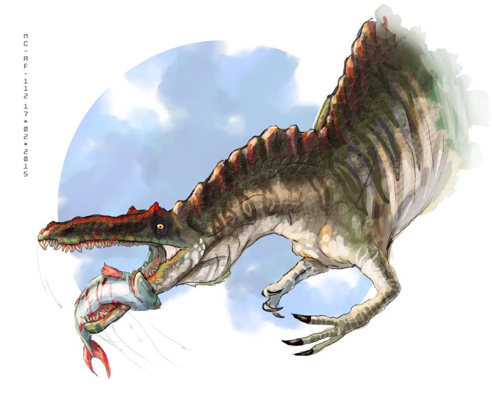 Suchomimus by AspectusFuturus