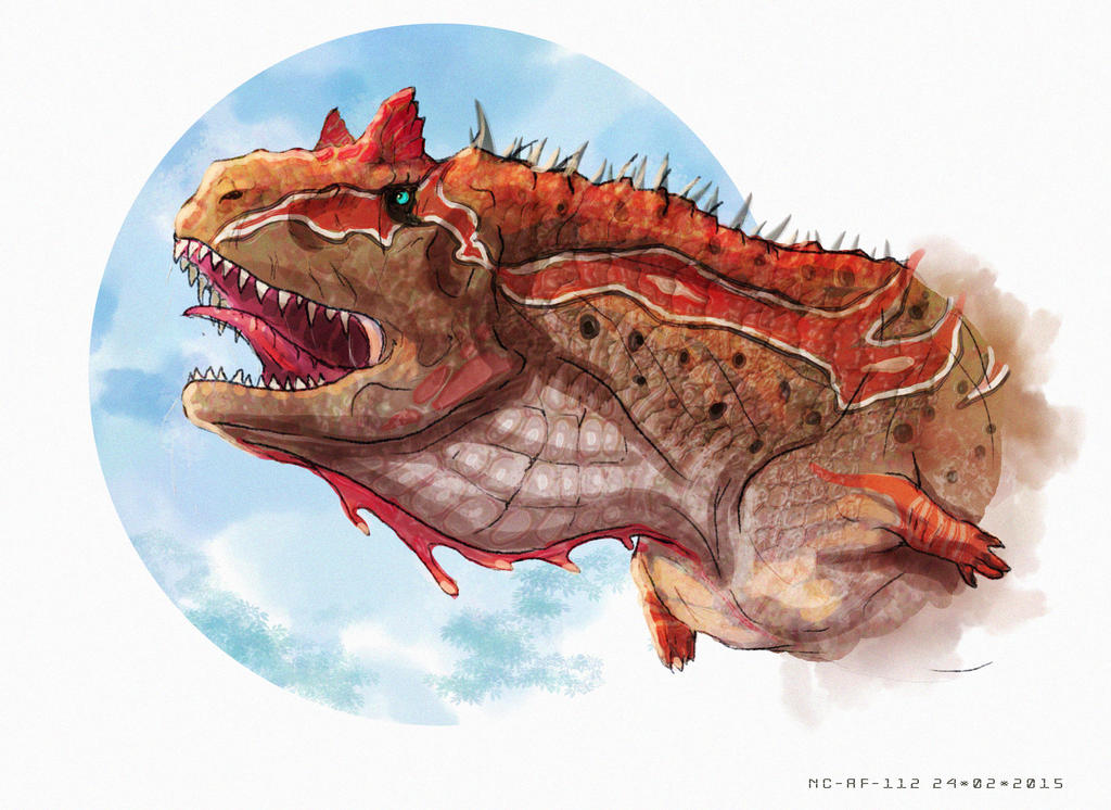 Carnotaurus by AspectusFuturus