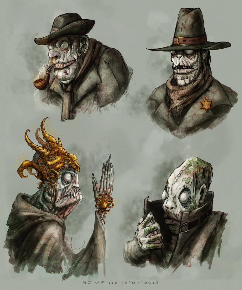 People of Innsmouth by AspectusFuturus