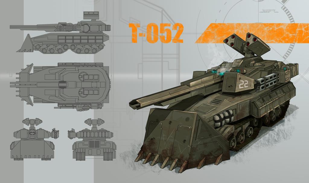 Tank-protector concept by AspectusFuturus