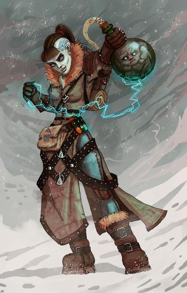 Alchemist girl by AspectusFuturus
