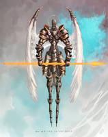 Angel Knight by AspectusFuturus