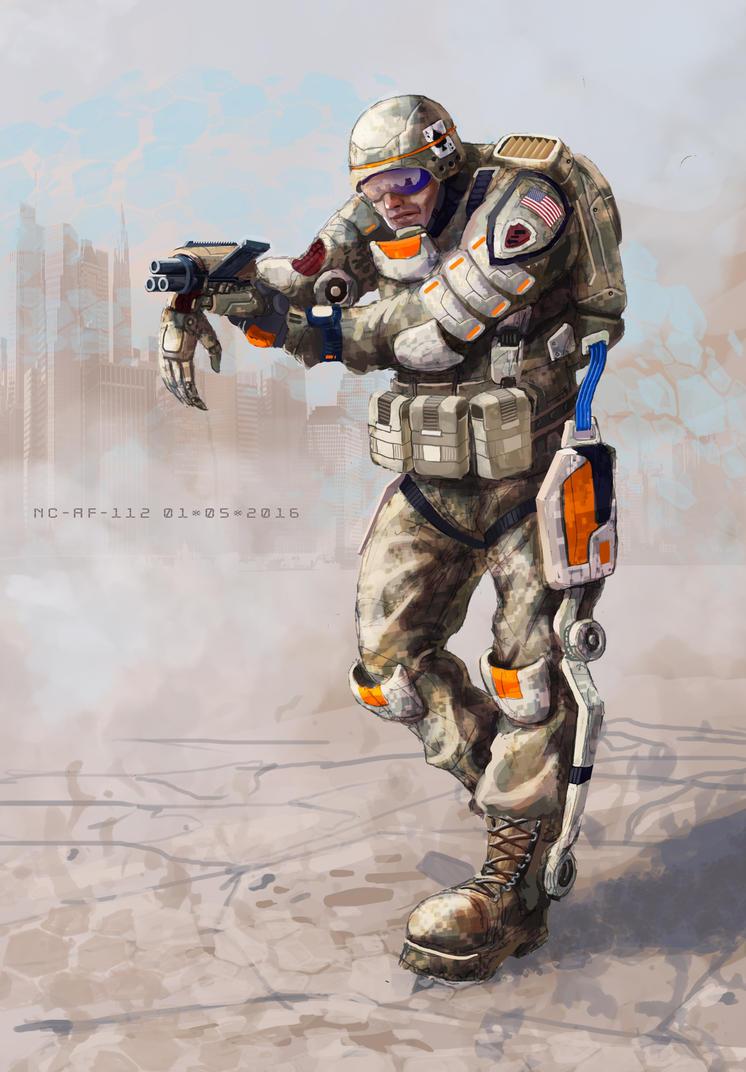 Trooper 010516 by AspectusFuturus