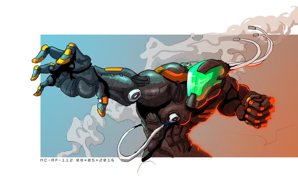 Comic art character by AspectusFuturus