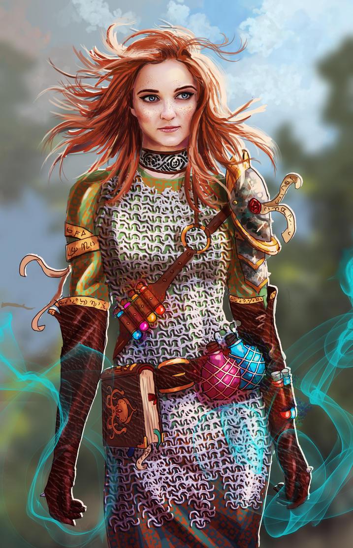 Alice the Battle Alchemist by AspectusFuturus