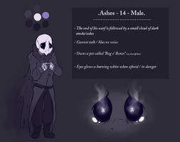 REF: Ashes by MissDiealot