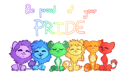 Be proud of your pride