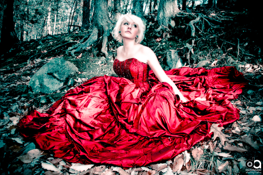 The Scarlet Dress - 6
