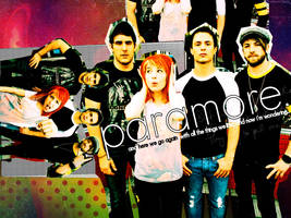Paramore wallpaper 2 by headlinereadout