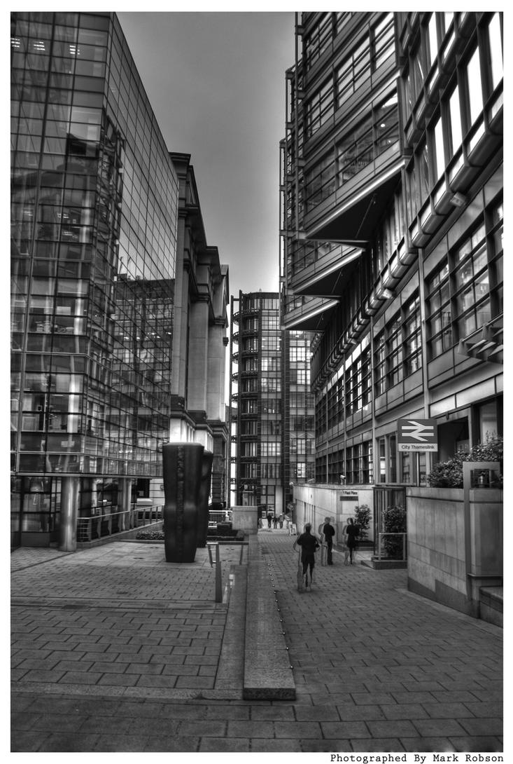 Down Town HDR by N1ghtf4ll3r