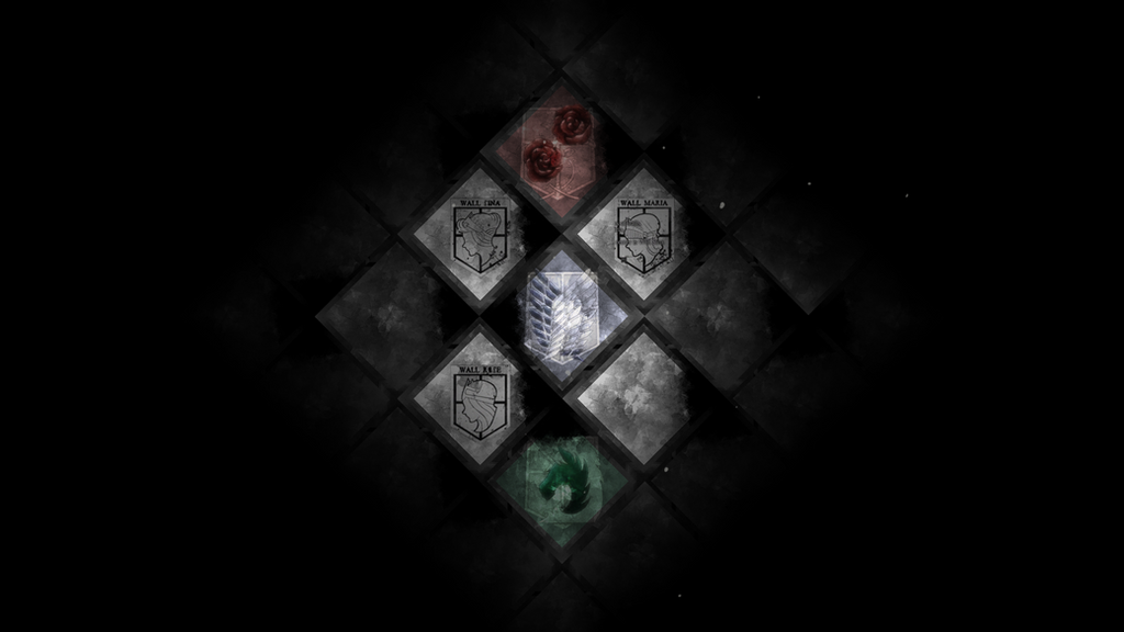 Attack On Titan Wallpaper BG By QuasiXi