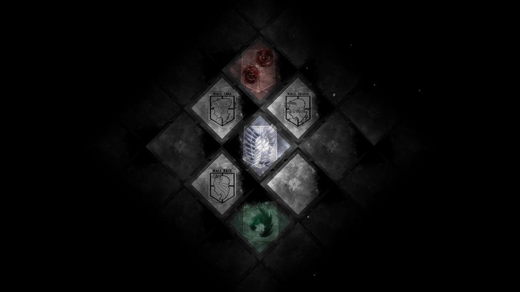 Attack On Titan Wallpaper Bg By Quasixi On Deviantart