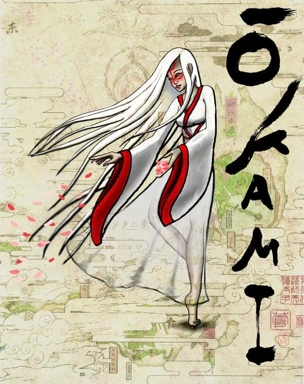 Ameterasu for Okami Contest by artemis1986