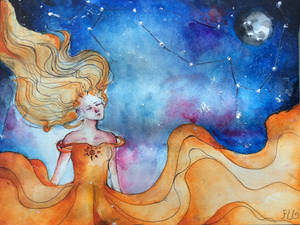 Moonlight dance by FLO311