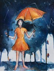 It's raining stars ! by FLO311