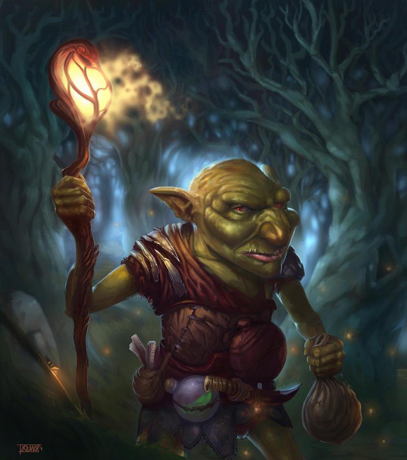 goblin wizard' by kemalgedikk